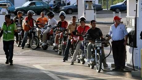 O combustível continua a ser muito barato na Venezuela