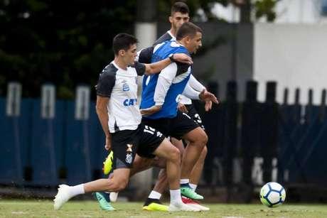 Léo Cittadini participou do último treino do Santos sem restrições e está liberado (Foto: Ivan Storti/Santos)
