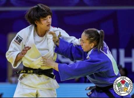 Maria Portela em ação (Foto: Reprodução)