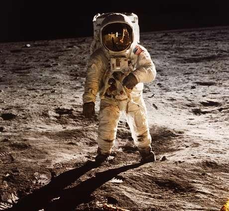 Buzz Aldrin descreveu a sensação de pisar na Lua de 'desolação magnífica'