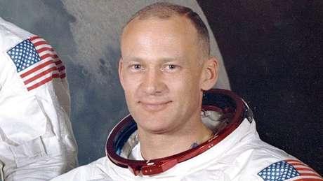 O astronauta Buzz Aldrin foi o segundo homem a pisar na Lua