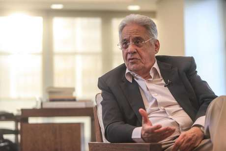 O ex-presidente da República Fernando Henrique Cardoso