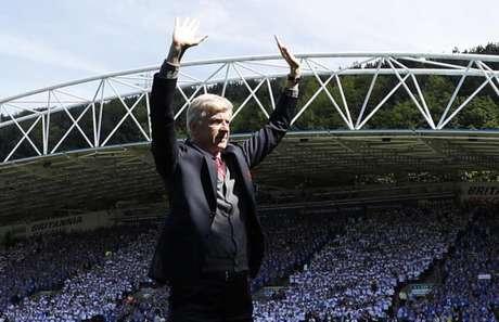 Wenger ficou 22 anos à frente do Arsenal (Foto: Adrian Dennis / AFP)