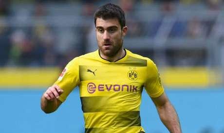 Sokratis está no Borussia Dortmund desde 2013 (Foto: AFP)