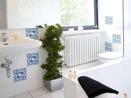 Azulejos para banheiro confira 50 ideias para decorar o - Azulejos vinilicos ...
