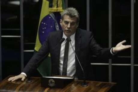 O senador Romero Jucá, uma das figuras centrais do governo Temer