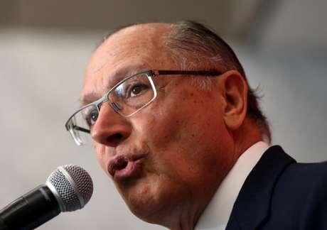 Alckmin concede entrevista em São Paulo  18/4/2018    REUTERS/Paulo Whitaker