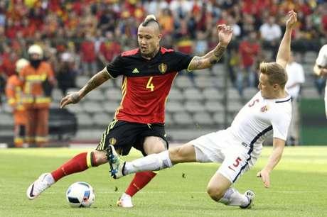 Nainggolan é um dos principais nomes da geração belga (Foto: YORICK JANSENS / Belga / AFP)