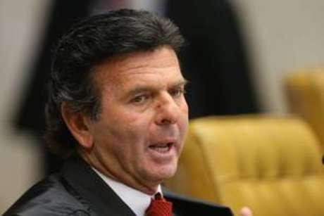 O presidente do TSE, ministro Luiz Fux