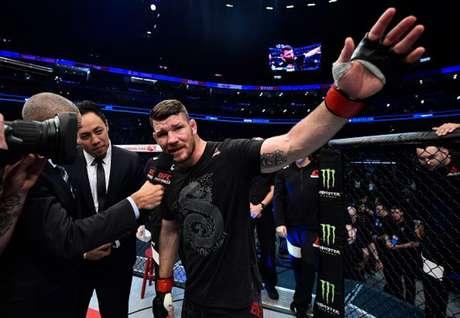 Ex-campeão, Michael Bisping anunciou sua aposentadoria do MMA na última segunda-feira (FOTO: Divulgação/UFC)