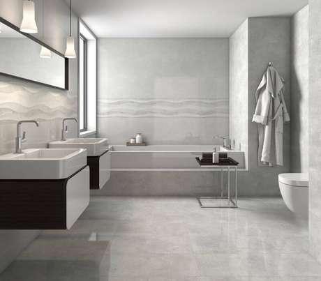 Revestimento Para Banheiro Como Colocar Piso Cer 226 Mico