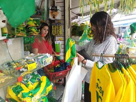 Movimento nas lojas do centro do Rio é muito fraco