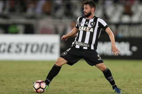 João Paulo em ação pelo Botafogo (Foto: Vitor Silva/SSPress/Botafogo)