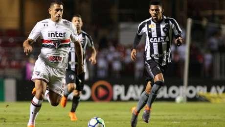 Centroavante anotou oito gols nesta temporada (Luis Moura / WPP)