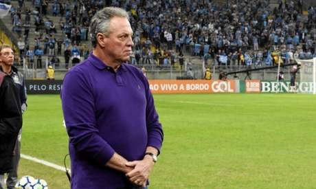 Abel Braga montou bloqueio em Porto Alegre