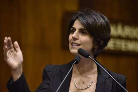 A deputada estadual gaúcha Manuela D'Ávila é pré-candidata a presidente pelo PCdoB nas eleições 2018