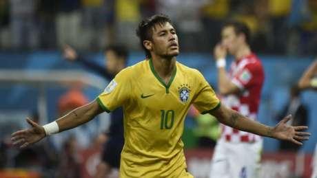 Brasil 3 x 1 Croácia pela Copa do Mundo de 2014
