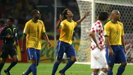 Brasil 1 x 0 Croácia pela Copa do Mundo de 2006