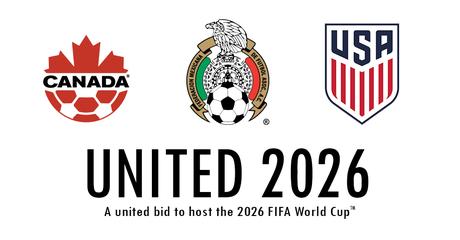 Estados Unidos lideram candidatura conjunta com Canadá e México para a Copa de 2026