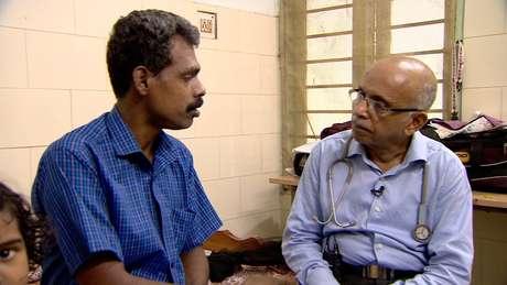O médico indiano MR Rajagopal tem lutado há décadas para simplificar as regras sobre uso de opioides