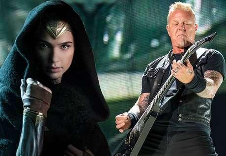 O que a Mulher-Maravilha tem a ver com o Metallica? Mais do que você pensa...
