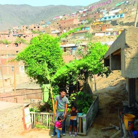 Rogelio Ramos Huamán começou com um pequeno jardim em Comas; projeto se espalhou pelo bairro