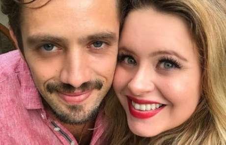 Rafael Cardoso e Mariana Bridi já são pais de Aurora, de 3 anos