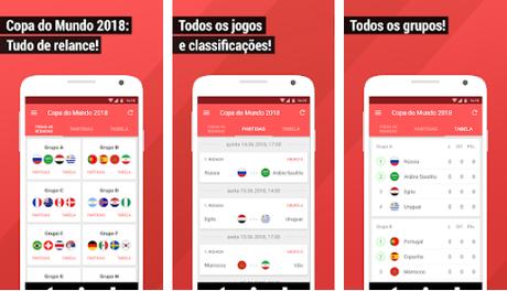 920f6bdd05ba5 Os melhores apps para acompanhar os jogos da Copa do Mundo