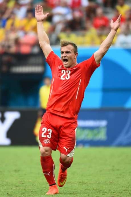 Shaqiri, um dos craques da Suíça, vai defender seu país na Copa do Mundo na Rússia