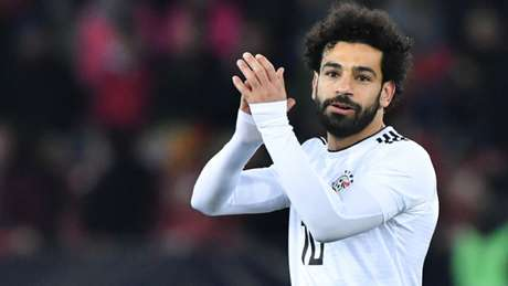 Em recuperação, Salah está na lista final do Egito para a Copa (Foto: AFP)