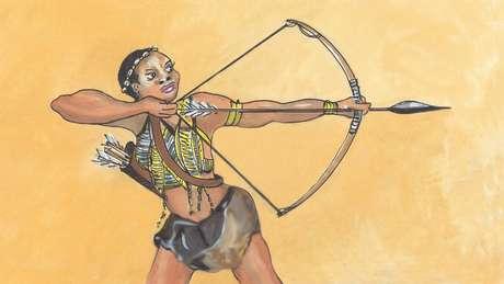 Njinga foi uma das mulheres africanas mais famosas por sua fervorosa luta contra a ocupação européia e a escravidão de seu povo por quatro décadas