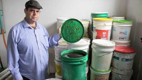 Mel descartado durante o controle de qualidade é usado para fazer o combustível
