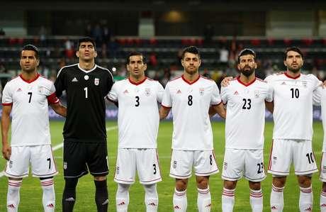 Jogadores da seleção do Irã
