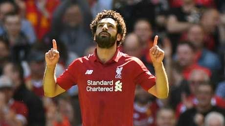 Salah seria uma opção caso o Barcelona não concretize negociação com Griezmann