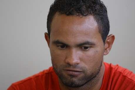O goleiro Bruno é acusado de participação na morte de Eliza Samúdio.