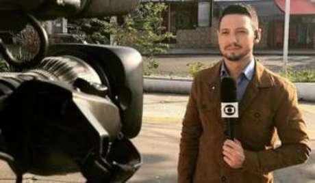 Repórter fazia transmissão do Rio de Janeiro