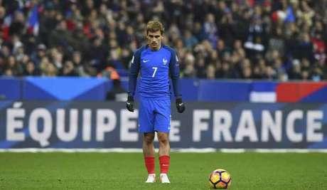 Griezmann é o astro de uma seleção francesa que estará muito forte na Rússia (Foto: Franck Fife / AFP)
