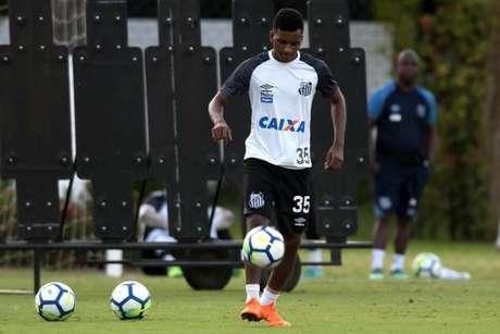 Joia do Santos deve vestir outra camisa em janeiro de 2019: Real Madrid fez proposta (Foto: Ivan Storti/Santos)