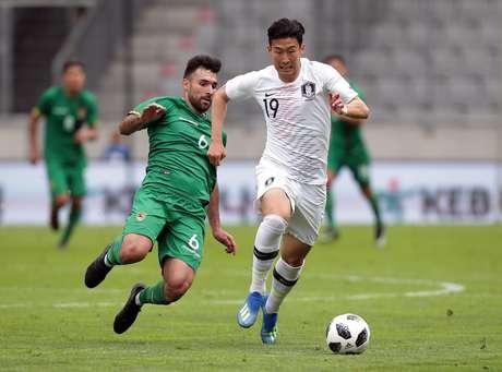 Mesmo com Son Heung-Min em campo, Coreia do Sul e Bolívia empataram em 0 a 0