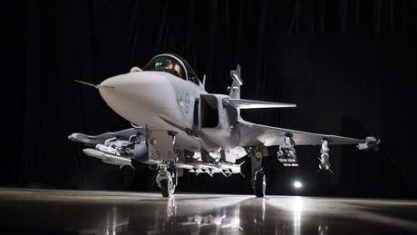 Brasil adquiriu 36 caças suecos Gripen por US$ 5,4 bi