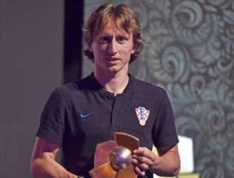 Modric, do Real Madrid,ganha prêmio de melhor jogador croata.