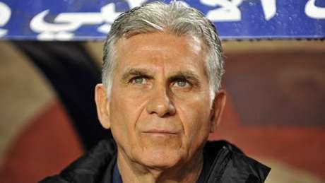 Carlos Queiroz é o comandante da equipe iraniana (AFP)