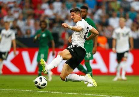 Este foi o último amistoso da Alemanha antes da Copa do Mundo