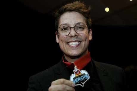 Humorista Fábio Porchat disse que uma das formas de chamar atenção para um problema é brincar com ele e tirar sarro