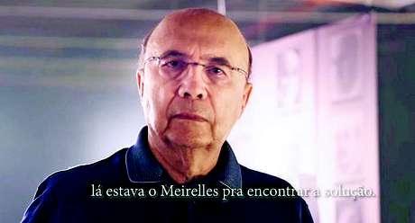 Peça de Henrique Meirelles, pré-candidato do MDB para as eleições 2018, enaltece comando na área econômica