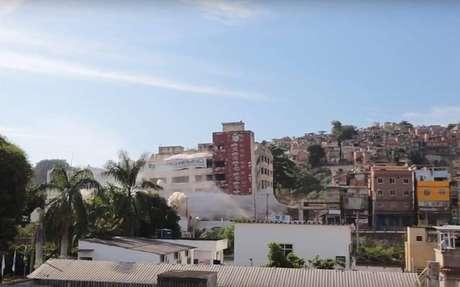 Prédio do IBGE foi demolido no Rio de Janeiro