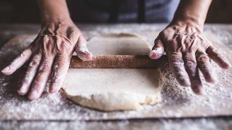 Fermento fresco deixa o pão com um gosto melhor