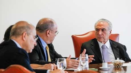 """""""Hoje é um dos conselheiros do presidente da República"""", diz o deputado Darcísio Perondi (MDB/RS), um dos parlamentares mais próximos de Temer"""