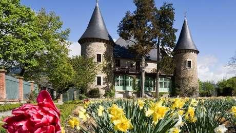 Castelo foi completamente reformado entre 1999 e 2003 (Crédito: Foto: Castelo de Picomtal)