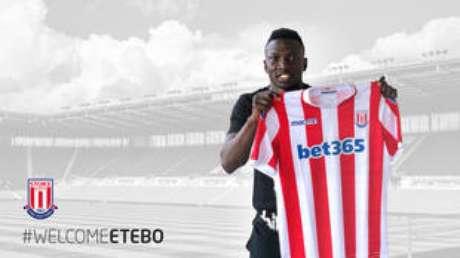 Peter Etebo, de 22 anos, assina contrato com o Stoke City.